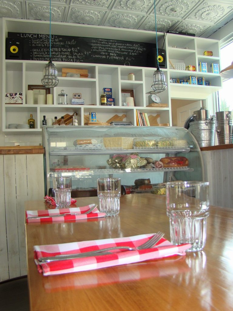 Lupo Restaurant Interior
