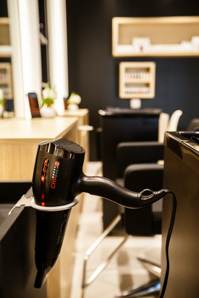 G Style Bar at The Regent Village hairdryer