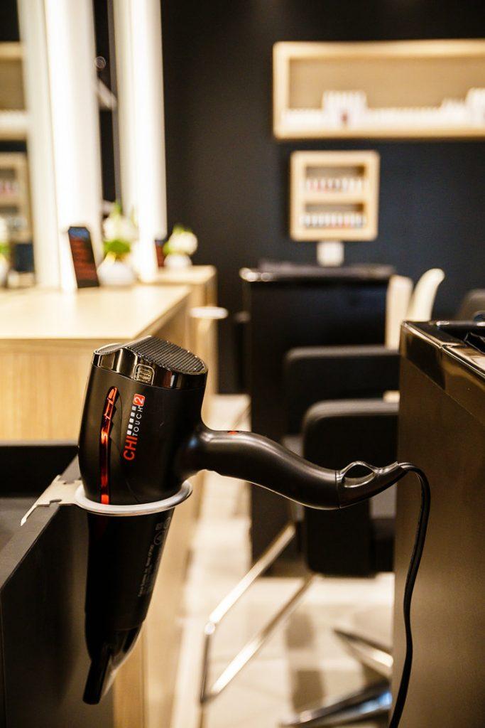 G Style Bar at The Regent Village hairdryer